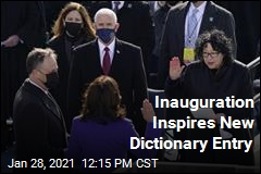 Inauguration Inspires New Dictionary Entry