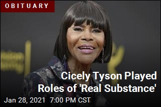 On Every Stage, Cicely Tyson Brought 'Convictions and Grace'