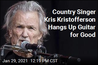 After 50 Years, Singer Kris Kristofferson Retires