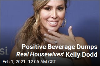 Real Housewives' Kelly Dodd Dumped by Positive Beverage