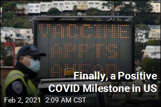 US Hits COVID Milestone— This Time a Good One