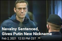 Russian Court Gives Navalny New Sentence