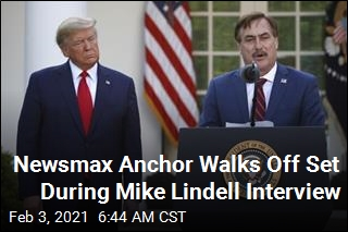 MyPillow CEO Mike Lindell's Newsmax Interview Goes Awry