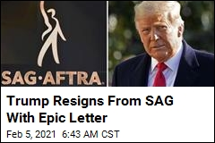 Trump Resigns From SAG With Epic Letter