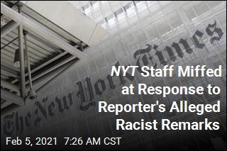 NYT Vows 'Results' After Reporter's Alleged Racist Remarks
