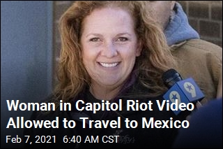 Judge Gives Capitol Rioter OK To Travel to Mexico