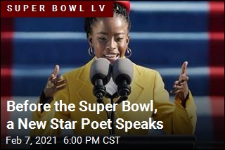 Before the Super Bowl, a New Star Poet Speaks