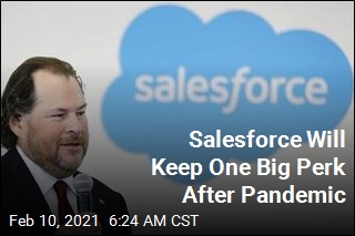 Salesforce to Staff: 'Work From Anywhere' Post-Pandemic