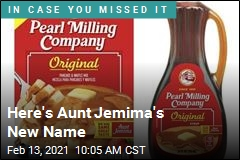 It's Name Change Time for Aunt Jemima