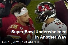 Super Bowl Underwhelmed in Another Way