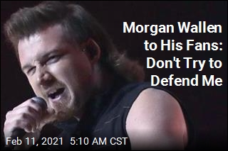 Morgan Wallen Asks Fans Not to Defend Him