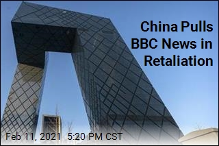Answering UK, China Kicks BBC Out