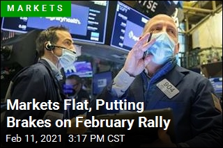 Markets Flat, Putting Brakes on February Rally
