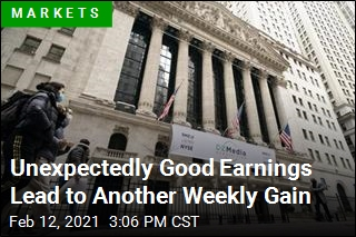 Unexpectedly Good Earnings Lead to Another Weekly Gain