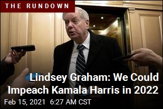 Lindsey Graham: We Could Impeach Kamala Harris in 2022