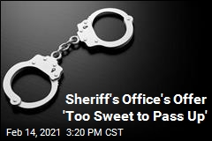 Sheriff's Office's Offer 'Too Sweet to Pass Up'
