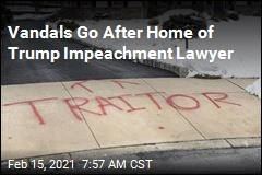 Vandals Go After Home of Trump Impeachment Lawyer