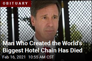 He Created the World's Biggest Hotel Chain