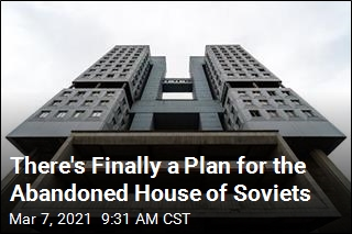 There's Finally a Plan for the Abandoned House of Soviets