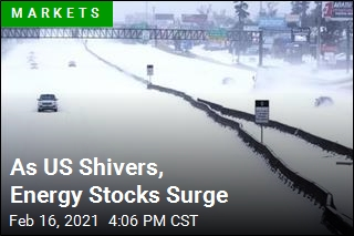 As US Shivers, Energy Stocks Surge