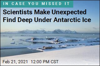 Scientist Make Unexpected Find Deep Under Antarctic Ice