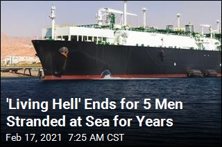 'Living Hell' Ends for 5 Men Stranded at Sea for Years