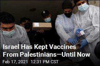 Israel Finally Permits COVID Vaccine Delivery to Gaza Strip