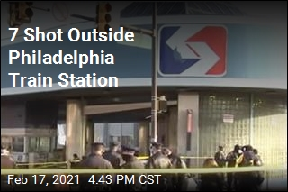 7 Shot Outside Philadelphia Train Station