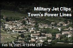 Military Jets Accidentally Knock Out Power to Town