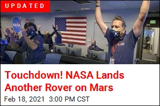 Touchdown! NASA Lands Another Rover on Mars