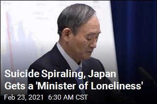 Japan Now Has a 'Minister of Loneliness'