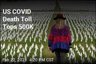 US COVID Death Toll Tops 500K