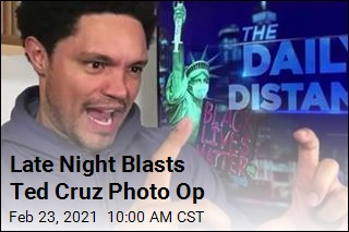 Late Night Blasts Ted Cruz Photo Op