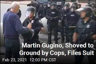 Martin Gugino, Shoved to Ground by Cops, Files Suit