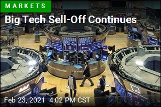 Big Tech Sell-Off Continues