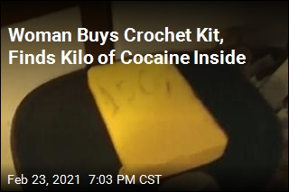 Woman Finds Kilo of Cocaine in Thrift Store Crochet Kit