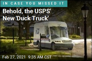 Behold, the New USPS Truck