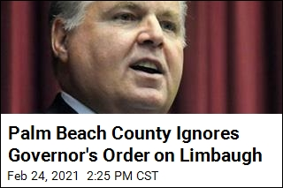 Palm Beach County Ignores Governor's Order on Limbaugh