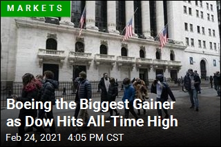 After Shaky Start, Dow Surges to All-Time High