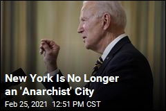 Biden Reverses Trump Order on 'Anarchist' Cities