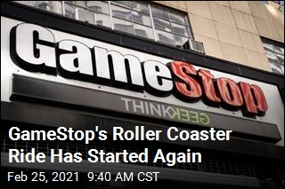 GameStop Shares Are Surging Again