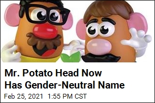 Mr. Potato Head Now Has Gender-Neutral Name