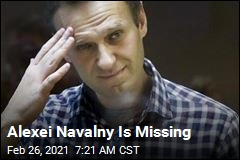 Allies Have No Idea Where Alexei Navalny Is