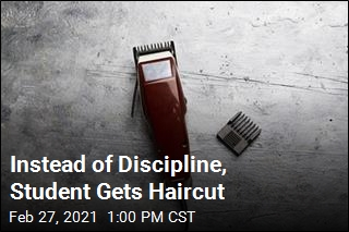 Instead of Discipline, Student Gets Haircut