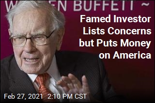 Buffett's Letter Lists Concerns but Says to Bet on America