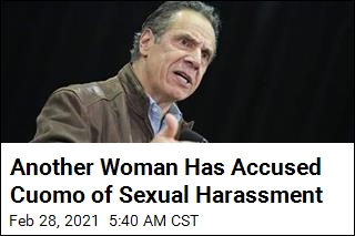 Another Woman Has Accused Cuomo of Sexual Harassment