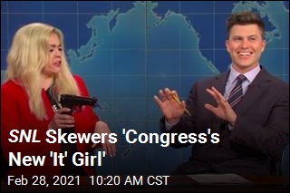 SNL Skewers 'Congress's New 'It' Girl'