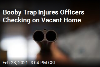 Booby Trap Injures Officers Checking on Vacant Home