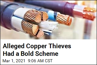 Cops: Copper Thieves Posed as Street Work Crew