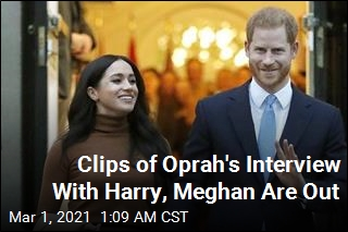 Clip of Oprah Winfrey's Prince Harry Interview Released